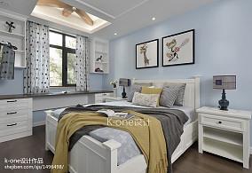 舒适美式卧室设计案例图