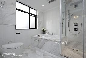 优美641平美式别墅实景图卫生间美式经典设计图片赏析
