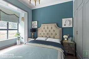 精美面积97平美式三居卧室效果图片大全