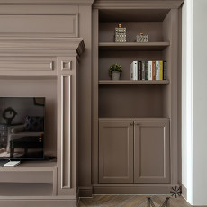典雅103平美式三居装修美图