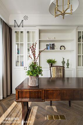 悠雅110平美式三居装饰美图三居美式经典家装装修案例效果图