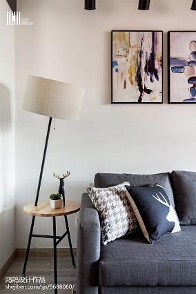 2018精选面积104平北欧三居客厅装修欣赏图片