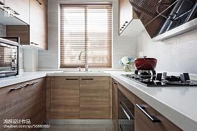 2018三居厨房北欧效果图片大全三居北欧极简家装装修案例效果图