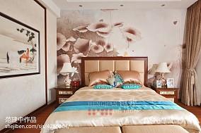 2018中式卧室实景图片