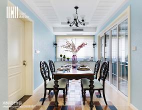 精选三居餐厅美式装修设计效果图片
