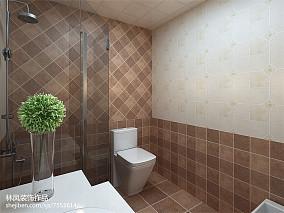 热门三居卫生间美式实景图