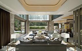 79.6平热门客厅现代装修实景图片大全