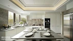现代厨房实景图