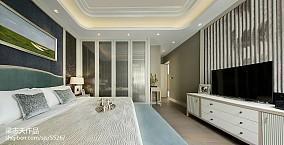 卧室现代效果图片