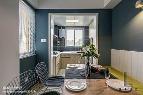 2018面积86平现代二居餐厅装修欣赏图