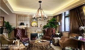 法式风格样板间壁炉效果图样板间欧式豪华家装装修案例效果图