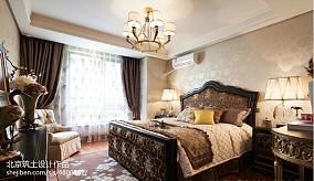 卧室欣赏图样板间欧式豪华家装装修案例效果图