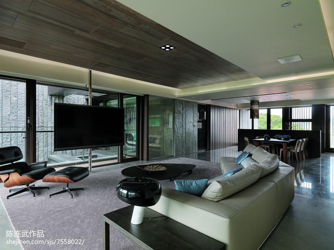 现代风格三居室客厅装修大全客厅沙发现代简约客厅设计图片赏析