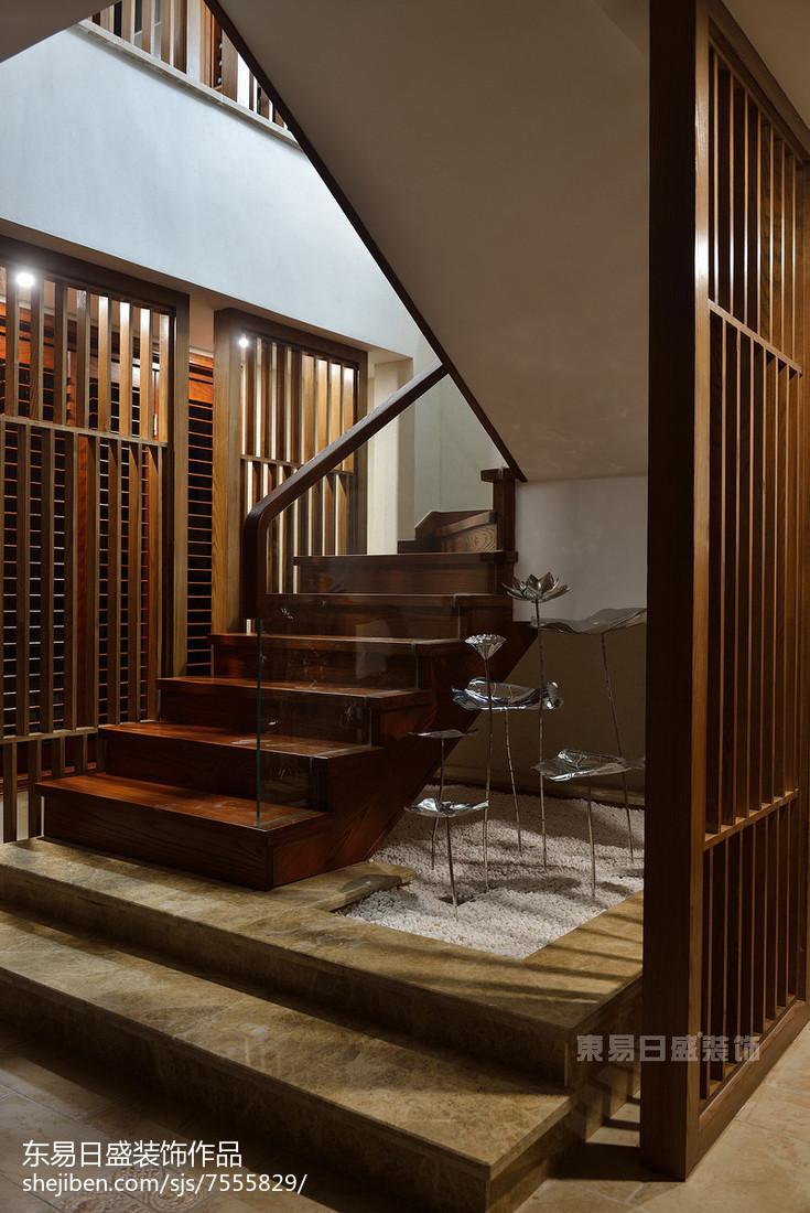 家居新中式风格楼梯设计