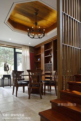 大气915平中式别墅实景图片别墅豪宅中式现代家装装修案例效果图