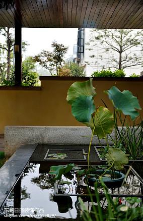 精美别墅花园中式效果图片欣赏家装装修案例效果图