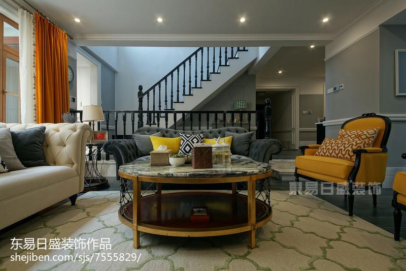 美式风格精美客厅设计客厅美式经典客厅设计图片赏析
