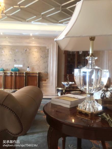 精美面积141平别墅客厅新古典装修实景图片