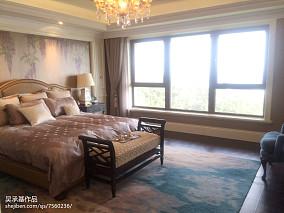 热门面积117平别墅卧室新古典装修图片