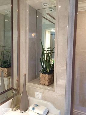 2018面积131平别墅卫生间新古典装修设计效果图片欣赏