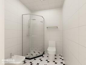 热门北欧一居卫生间装修实景图片