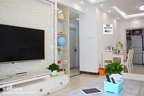 精选面积102平宜家三居客厅装修欣赏图片