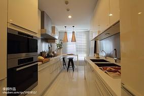精选现代三居厨房装修实景图