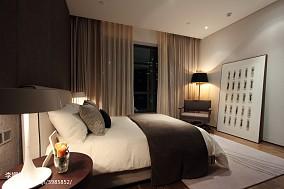 新中式卧室效果图欣赏