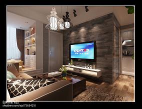 2013现代电视背景墙装修