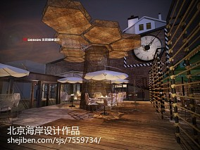 别墅中式客厅设计