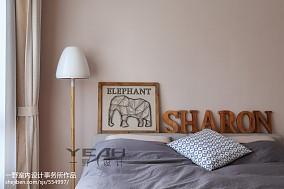 温馨28平简约小户型卧室装潢图