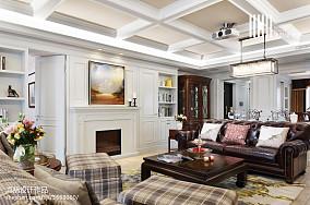 华丽535平美式别墅设计案例别墅豪宅美式经典家装装修案例效果图