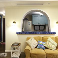 精美106平米三居客厅地中海装修效果图片欣赏