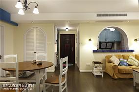热门92平米三居客厅地中海实景图片大全