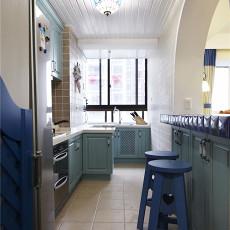 精美面积92平地中海三居厨房设计效果图