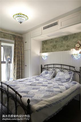 热门100平米三居卧室地中海实景图片大全卧室2图地中海设计图片赏析