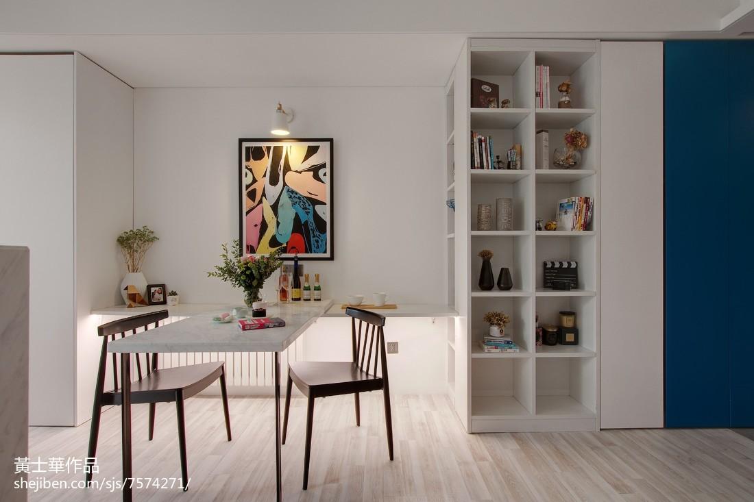 现代小户型厨房实景图