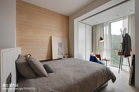 面积77平小户型卧室现代效果图
