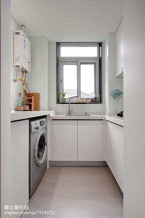 精美面积73平小户型厨房现代装修效果图片欣赏