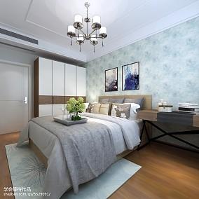 黑白系简约卧室设计