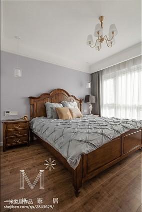 热门美式三居卧室欣赏图片