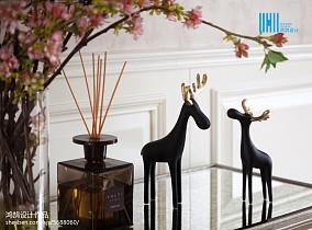 精选114平方美式别墅客厅装饰图