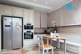 平米美式别墅厨房装修设计效果图片欣赏151-200m²别墅豪宅美式经典家装装修案例效果图
