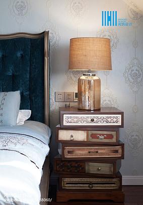 精美118平方美式别墅卧室实景图151-200m²别墅豪宅美式经典家装装修案例效果图