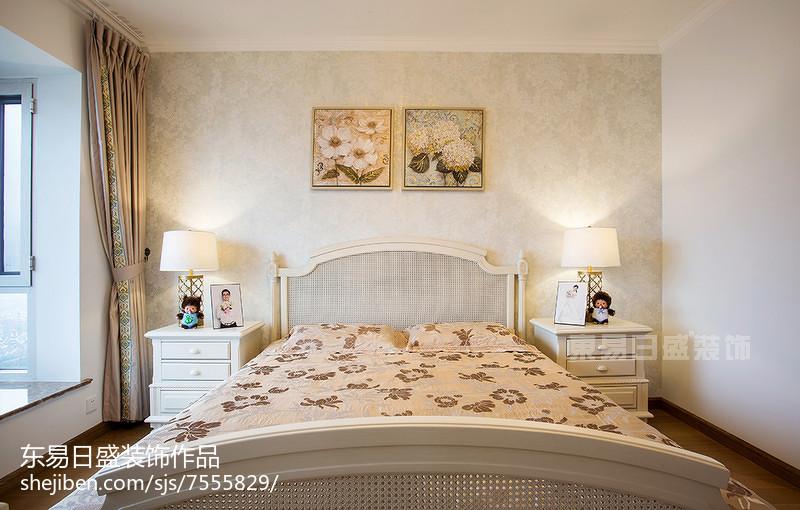 精选面积120平欧式四居卧室装修效果图卧室