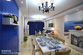 热门餐厅地中海装修实景图片