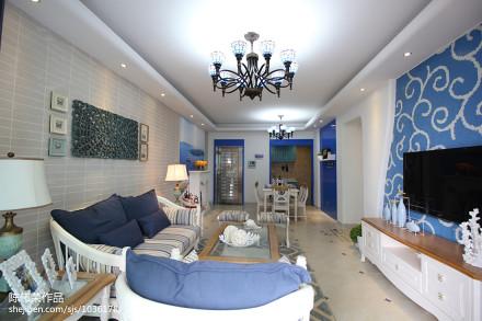 精美客厅地中海实景图片欣赏客厅1图