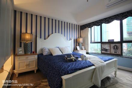 热门卧室地中海欣赏图卧室