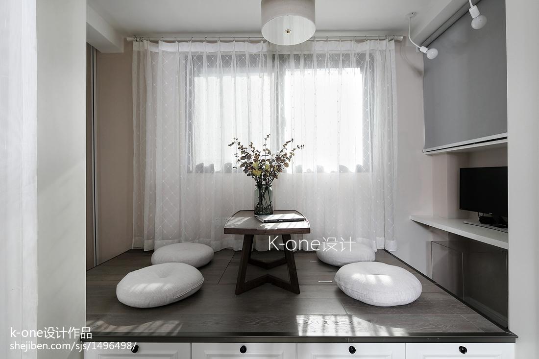 精美美式二居阳台装修图片阳台美式经典阳台设计图片赏析