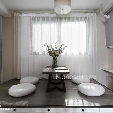 精美美式二居阳台装修图片